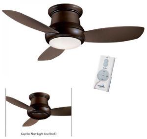 "Minka Aire F519L-ORB Oil Rubbed Bronze Taupe Concept II 52"" Ceiling Fan w/Remote"