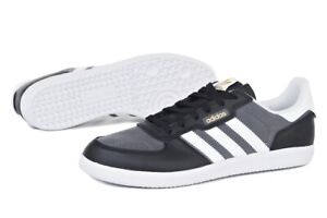 adidas Leonero Lace Up  Mens  Sneakers Shoes Casual   - Black - Size 9