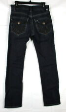 MEK Denim Mens Jeans Sz 29x32 St. Petersburg Slim Straight Button Fly Dark Wash