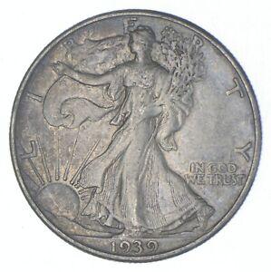 Better 1939-D - US Walking Liberty 90% Silver Half Dollar Coin Set Break *670