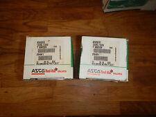 "Asco 1/4"" Redhat 8262G202 Solenoid Valve 120/60, 110/50 #868"
