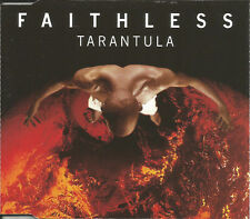 FAITHLESS Tarantula 4TRX w/ EDIT & 3 MIIXES TIESTO CD single SEALED USA seller