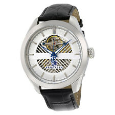 Brooklyn Pierrepont Skeleton Mens Automatic Silver Dial Mens Watch