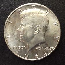 1964-D Kennedy Half Dollar Silver U.S. Coin A5217