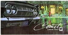 Mercury Comet 1964 USA MARKET sales brochure 202 404 Caliente