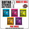 Ernie Ball Classic Pure Nickel Slinky Rock n Roll Electric Guitar Strings