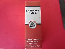 Cannon Plug Battery Kit #11749 #Ca11749 Aircraft Receptacle New In Box