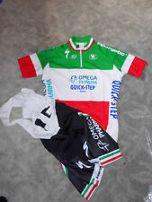 Vermarc Italy Champion equipo Quick Step specialized camiseta set (pantalones + Jersey)