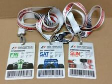 Mega Rare F1 Singtel Singapore Grand Prix 2009 Tickets w/Lanyard x3 Days (A1768)