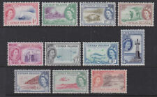 Cayman Islands 1953-56 Mint MLH Defintives Local Scenes Part Set 1s Turtle Beach