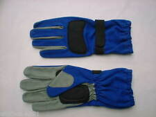 Guantes de karting y racing color principal azul