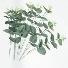 New Artificial Fake Leaf Eucalyptus Green Plant Flowers Nordic Home Party Decor