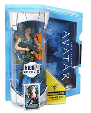 """AVATAR COL.MILES QUARITCH 7"""" INCH MOVIE MASTERS *NEW*"""