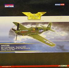 "Corgi AA37104 P51B Mustang 74th FS Flying Tigers ""Tommy's Dad"" John Herbst NEW"