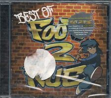 CD ALBUM 12 TITRES--FOOT 2 RUE--THE BEST OF--NEUF