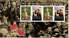 AUSTRALIA 2008 WORLD WAR 1 ANNIVERSARY FINE USED MINIATURE SHEET