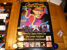 """CHUCK BERRY 20X36"""" PROMO POSTER SIGNED AUTOGRAPHED"""