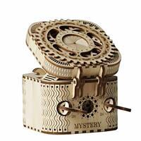 Treasure Box 3D Puzzle Adults - Secret Puzzle Box Brain Teasers Wooden