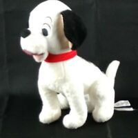"Disney Store 101 Dalmatians Lucky Plush Stuffed Animal Puppy Red Collar 12"""