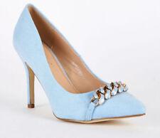 Calzado de mujer zapatos de salón sin marca color principal azul