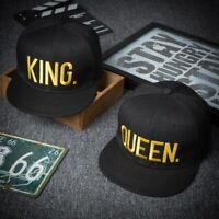 King Queen baseball cap spring and summer outdoor embroidery couple hip hop flat