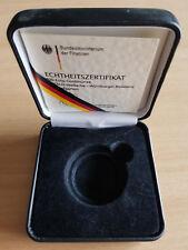 """MDS MÜNZETUI (LEER) VON 100 EURO 2010 """"WÜRZBURGER RESIDENZ UND HOFGARTEN"""""""