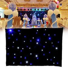 3 x 2m RGB LED DMX Vorhang Stern Tuch Matrix Kulisse Partei Erscheinen Hochzeit