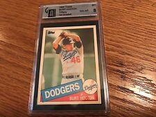 1985 Topps Box Set Collector's Edition (Tiffany) #201 Burt Hooton Baseball Card