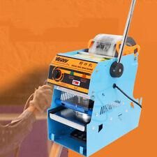 220V Electric Automatic Plastic Tea Cup Sealer Sealing Machine Bubble 300 Cup/hr
