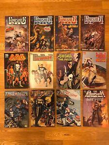 Punisher Graphic Novel Lot. 12 Graphic Novels/trade Paperbacks