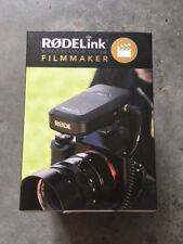 Brand New Rode RodeLINK Filmmaker Kit Lavalier Mic Wireless