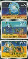 Cocos Islands 1980 SG50 Christmas set MNH