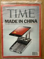 TIME Magazine July 2 2012  Apple iPhone Made In China Steve Jobs Smart Phone