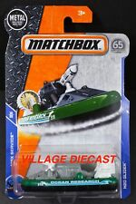 2018 Matchbox #71 H20 Glider™ GREY / GREEN / BLACK / OCEAN RESEARCH / MOC