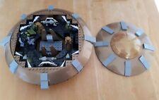 CHARACTER BUILDING Dr WHO DALEK SPACE SHIP & DALEK MINIFIGURES