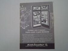 advertising Pubblicità 1965 FRIGORIFERO KELVINATOR