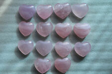 Top production processin 1pcs Beautiful rose powder crystal heart to heal