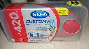 BRAND NEW & FACTORY SEALED Dr. Scholl's Custom Fit CF420 Orthotic Inserts CF 420