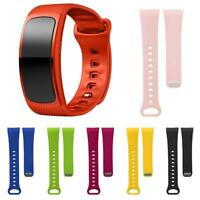 Soft Sports Silicone Bracelet Strap Replacement Watchband for Samsung Gear Fit 2