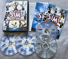 The Sims 1 Double Deluxe PC Base Game - Complete with 4 Discs & Manual