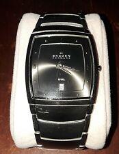 Skagen Men's 380LSXM Classic Gunmetal Watch