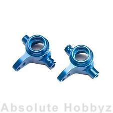 Traxxas Aluminum Steering Blocks Blue L+R (Slash) TRA6837X