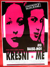 RAPE ME 2001 BAISE-MOI FRENCH ANDERSON LANCAUME BEUGNOT SERBIAN MOVIE POSTER