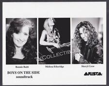 8x10 Photo~ BOYS ON THE SIDE Promo ~Bonnie Raitt ~Melissa Etheridge ~Sheryl Crow