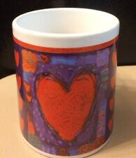 Hallmark / Houston Harvest Lots of Hearts Coffee Mug