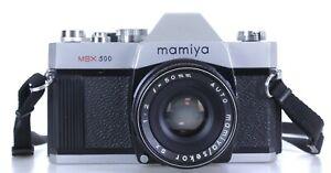 Mamiya MSX 500 Lens Mamiya Sekor 50mm F 1:2   (Réf#C-622)
