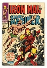 Iron Man and Sub-Mariner #1 GD/VG 3.0 1968