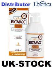 L'BIOTICA BIOVAX FOR DRY AND DAMAGED HAIR  SHAMPOO 400 ML - LIMITED EDITION