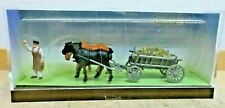 FALLER 154022 H0 Manure Wagon Horse-Drawn With Coachman New IN Boxed