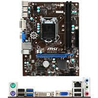 For MSI H81M-P33 Intel Socket LGA 1150 Micro ATX PC Motherboard DDR3 Placa Madre